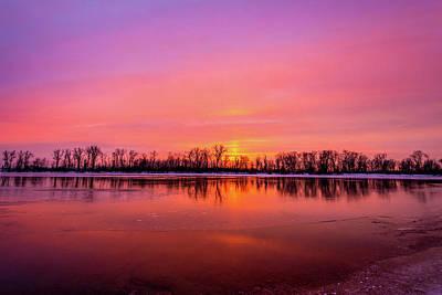 Photograph - Sandy Chute Sunset by Matthew Chapman