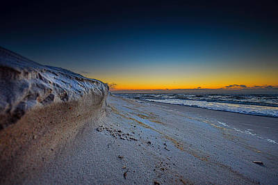 Photograph - Sandy Cliff On The Edge by Michael Thomas