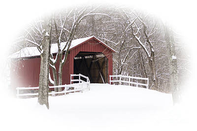 Photograph - Sandy Creek Covered Bridge by Andrea Silies