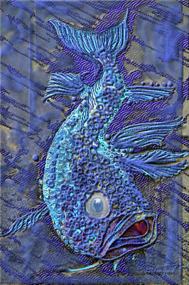 Photograph - Sandy Fish by Adria Trail