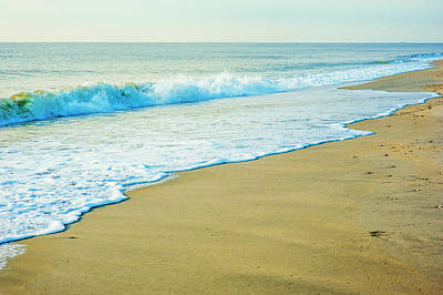 Sandy Hook Beach, New Jersey, Usa Art Print