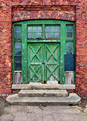 Photograph - Sandy Hook Carpenters Shop Entrance by Gary Slawsky