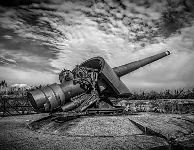 Photograph - Sandy Hook Gun Emplacement  by Nick Zelinsky