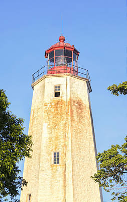 Photograph - Sandy Hook Lighthouse Iv by Marianne Campolongo