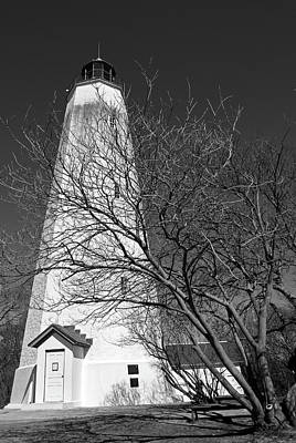Photograph - Sandy Hook Lighthouse Nj by Elsa Marie Santoro