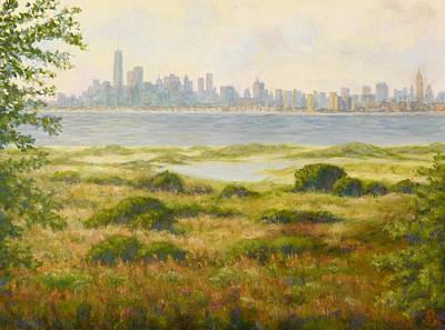 Painting - Sandy Hook View by Joe Bergholm