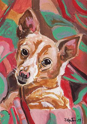 Painting - Sandy by John Keaton