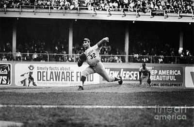 Spectators Photograph - Sandy Koufax (1935- ) by Granger