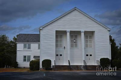 Blythewood Photograph - Sandy Level Baptist Church by Skip Willits