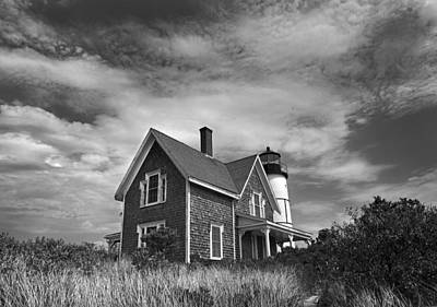 Photograph - Sandy Neck Light by Charles Harden