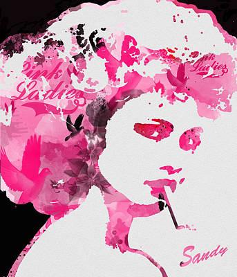 Sandy Art Print