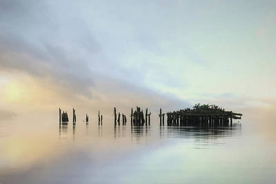 Gulf Of Maine Photograph - Sandy Point Reflections by Lori Deiter