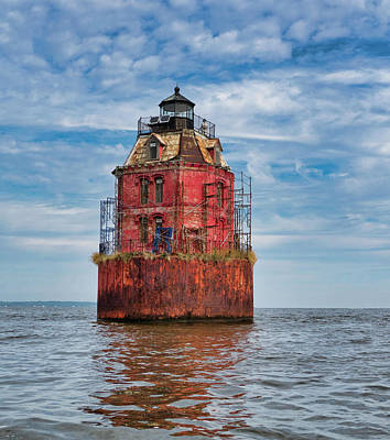 Photograph - Sandy Point Shoals Lighthouse by David Kay
