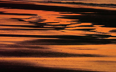 Photograph - Sandy Reflection by Joe Shrader