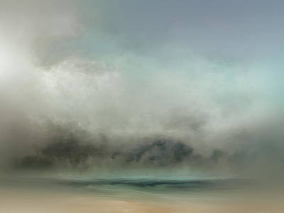 Tonalism Painting - Sandy Shores by Lonnie Christopher
