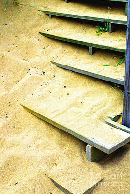 Photograph - Sandy  Steps by William Meemken