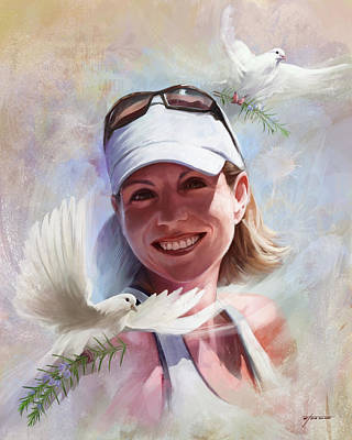 Digital Art - Sandy by Steve Goad