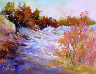 Painting - Sandy Trail by Rae Andrews