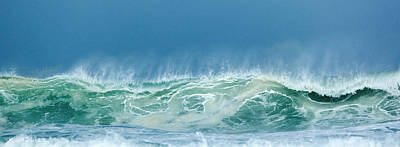Sandy Wave Art Print by Michelle Wiarda