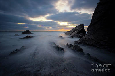 Photograph - Sandymouth Beach 1.0 by Yhun Suarez