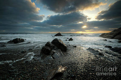 Photograph - Sandymouth Beach 4.0 by Yhun Suarez