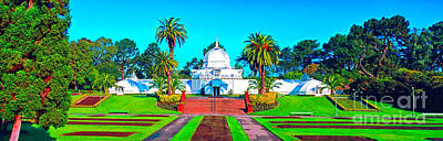 Photograph - San Francisco Conservatory Of Flowers 3000700049a by Tom Jelen