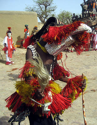 Dogon Country Photograph - Sangha 2009 by Huib Blom