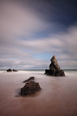 Roaring Red - Sango Rocks by Grant Glendinning