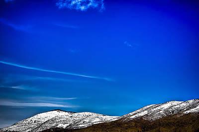 Photograph - Sangre De Christo Mountains East Of Taos Nm by Roger Passman