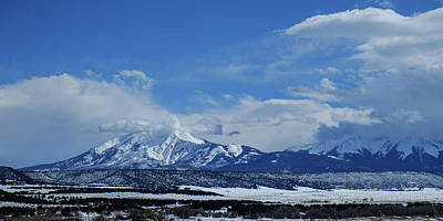 Photograph - Sangre De Christo Mountains by John McArthur
