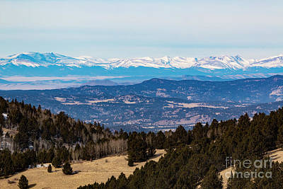 Steven Krull Royalty-Free and Rights-Managed Images - Sangre De Cristo Mountain Valley by Steven Krull