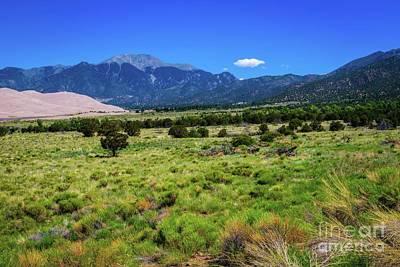 Photograph - Sangre De Cristo Mountains by Jon Burch Photography