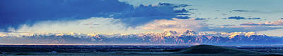 Photograph - Sangre De Cristo Mountains Of Colorado Panorama by John Brink