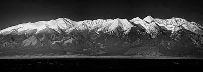 Photograph - Sangre De Cristo Mountains Snow Capped by John Brink