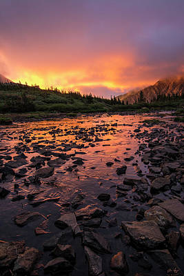 Photograph - Sangre De Cristo Sunrise Vertical by Aaron Spong