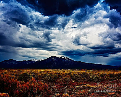 Photograph - Sangre De Cristo Xx by Charles Muhle