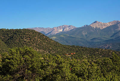 Photograph - Sangre De Cristos Near Salida Co by Charles Muhle