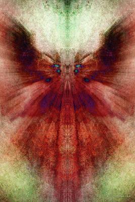 Digital Art - Sangre by WB Johnston
