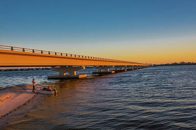 Photograph - Sanibel Causeway IIi by Steven Ainsworth