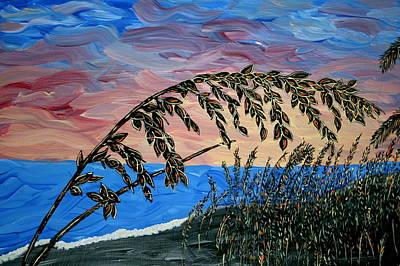 Sanibel Island Painting - Sanibel Dunes by Nick Flavin