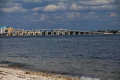 Photograph - Sanibel Island Causeway Bridge by Michiale Schneider