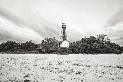 Photograph - Sanibel Island Lighthouse by Scott Pellegrin