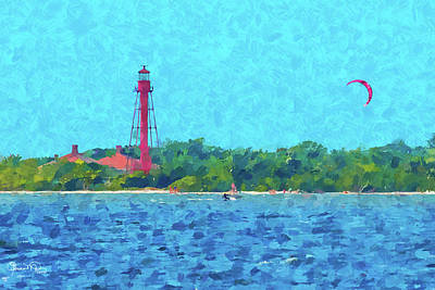 Photograph - Sanibel Island Lighthouse by Susan Molnar