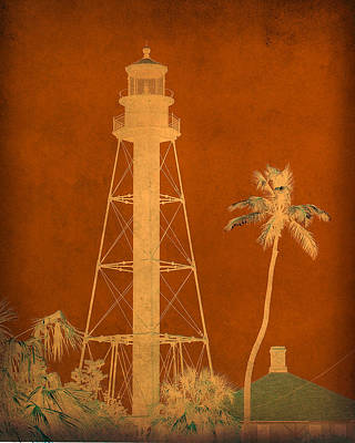 Photograph - Sanibel Island Lighthouse by Trish Tritz
