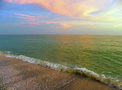 Photograph - Sanibel Island Near Sunset by Judy Wanamaker