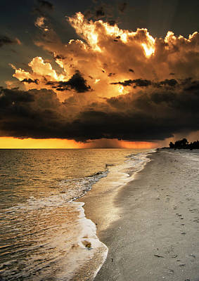 Photograph - Sanibel Island Rain by Greg Mimbs