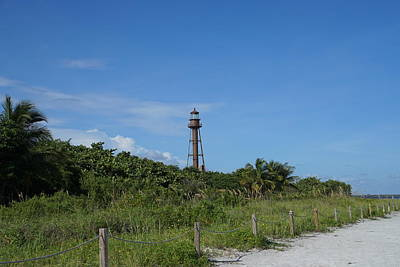 Photograph - Sanibel Lighthouse 3 by Laurie Perry