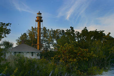 Photograph - Sanibel Lighthouse by Joseph G Holland