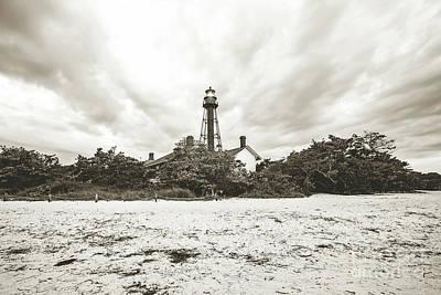 Sanibel Lighthouse Sunrise Art Print by Scott Pellegrin