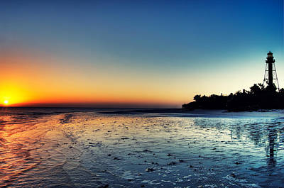 Sanibel Island Photograph - Sanibel Sunrise by Rich Leighton
